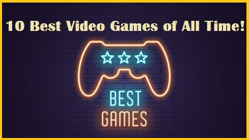 Bests Video Games Neon Sign